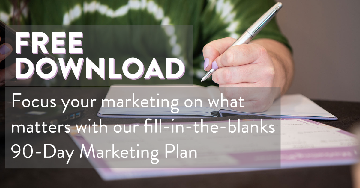 Free Download Fill-in-the-blanks Marketing Plan